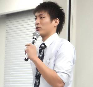 講演した森澤憲司専務取締役