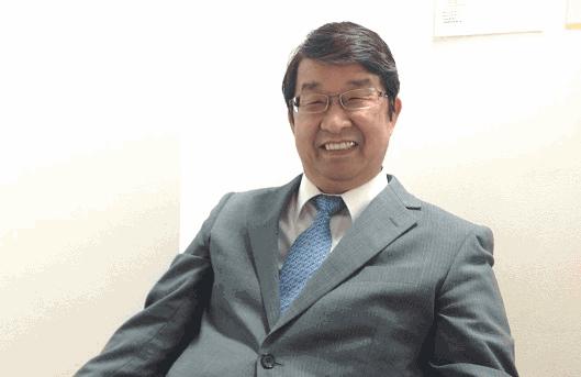 米国ハミィの責任者で、ハミィの取締役副社長の小俣勇次氏