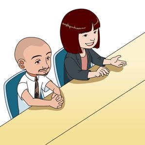 松﨑氏と益田氏