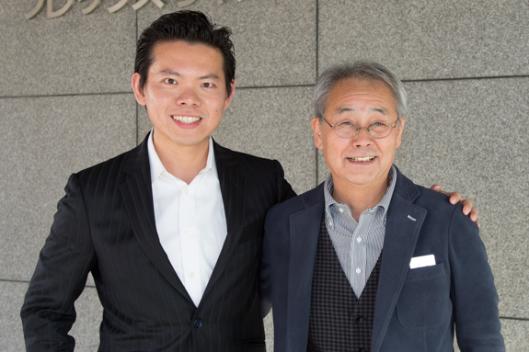 JIN TAKAHITO KOH氏と徳武初男氏