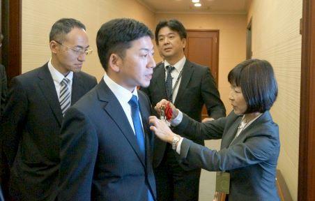 Hamee(ハミィ)の上場セレモニーが開かれる東京証券取引所(東証)⑯