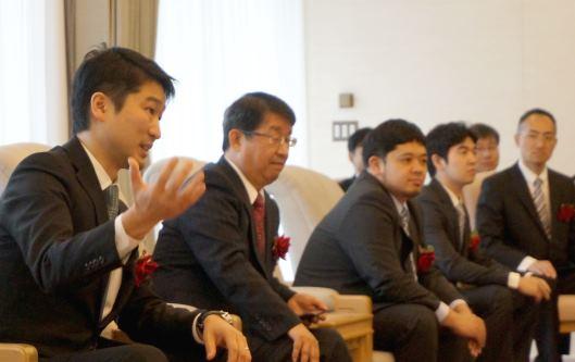 Hamee(ハミィ)の上場セレモニーが開かれる東京証券取引所(東証)⑦