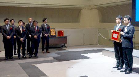 Hamee(ハミィ)の上場セレモニーが開かれる東京証券取引所(東証)⑨