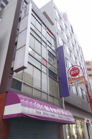 ディーケイシーが入居する東京都大田区のビル