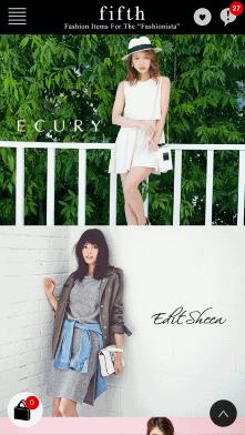 CODE SHARE(コードシェア)が運営する女性向けファッション通販サイト「fifth(フィフス)」