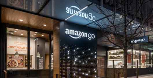 米アマゾンがテスト運営している「Amazon Go」