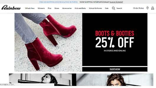 効果を出すメール活用術を大公開! メールマーケティングで売上を伸ばす米国企業の施策。女性、子ども、ティーン向けのアパレルを販売するRainbow Shopsの事例
