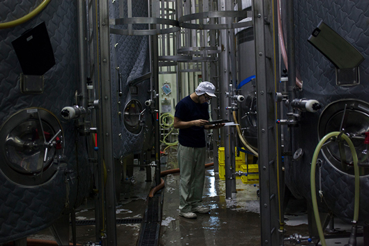ヤッホーブルーイングの醸造所