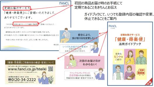 ファンケル「健康・得楽便」活用ガイドブック