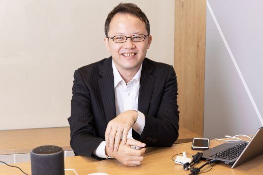毛塚社長は「音声ショッピングは個人的にアトラクション的な感覚で買い物できる新しいショッピング体験」と話す