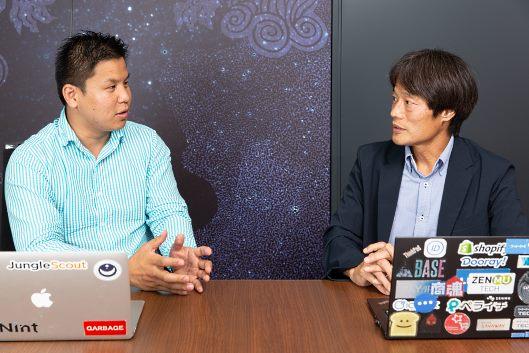 ECモール店も「データドリブンな運営を」と話す西尾氏と齋藤氏