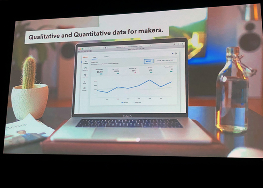 Qualitative and Quantitative data for makers