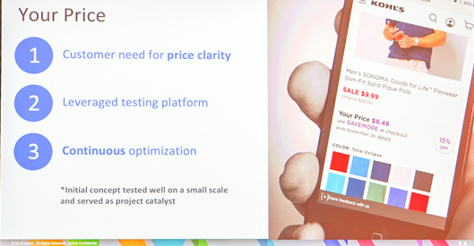 Your Price 1 customer needs for price clarity 2 leverages testing platform 3 Continuous optimization Initial concept tested well on a small scale and served as project catalyst