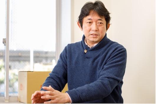 クラッシィの見崎以知郎代表取締役社長(撮影:吉田浩章)