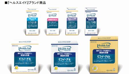 森下仁丹が新たに立ち上げた機能性表示食品のサプリブランド「ヘルスエイド」