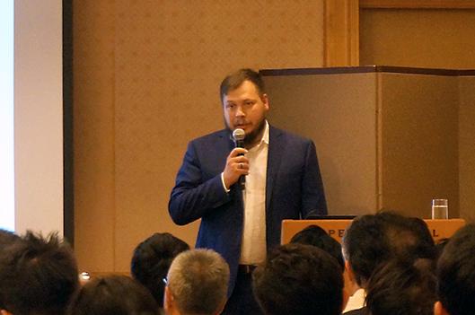 ロシア郵便 マーケティング&コーポレートコミュニケーション プロジェクトリーダーで副局長補佐のDmitriy Khorunzhiy氏