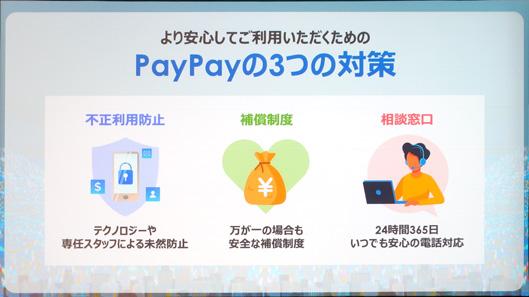 PayPay3つの対策