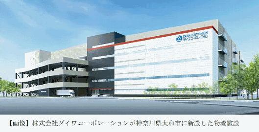 青山商事は、ダイワコーポレーションが神奈川・大和市に新設した物流施設のフロアの一部を賃借し、「ロジスティクスセンター横浜町田」として11月4日から本格稼働