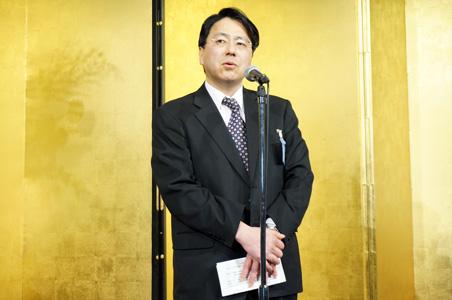 経済産業省 大臣官房審議官 商務・サービス担当 島田勘資氏