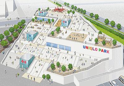 ユニクロは、売り場と公園が融合した新型店舗「UNIQLO PARK 横浜ベイサイド店」を4月10日にオープンする