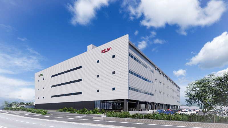 楽天グループ 福岡県糟屋郡の新施設のイメージ